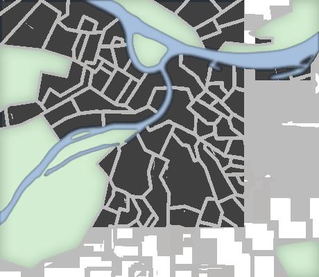 Pretraga nekretnina po karti Beograda