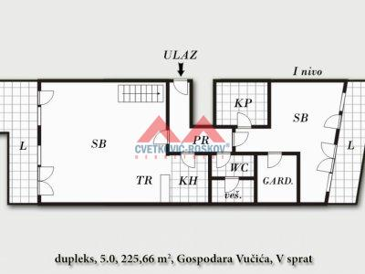 Detaljnije : STAN, >5.0, prodaja, Beograd, 225.66 m2, 645388e