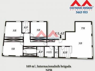 Detaljnije : STAN, 4.0, prodaja, Beograd, 168.69 m2, 450000e