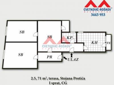 Detaljnije : STAN, 2.5, prodaja, Beograd, 71 m2, 135000e