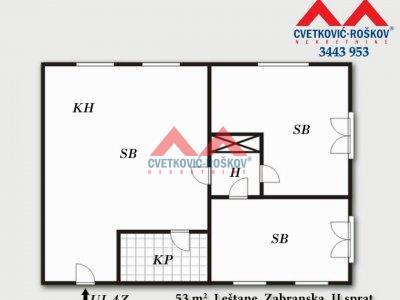 Detaljnije : STAN, 3.0, prodaja, Beograd, 53 m2, 22000e