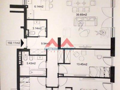 Detaljnije : STAN, 4.0, prodaja, Beograd, 102 m2, 214000e