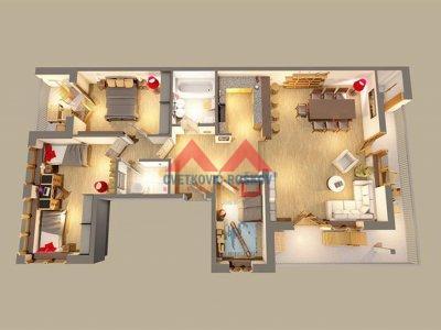Detaljnije : STAN, 4.0, prodaja, Beograd, 128 m2, 320000e
