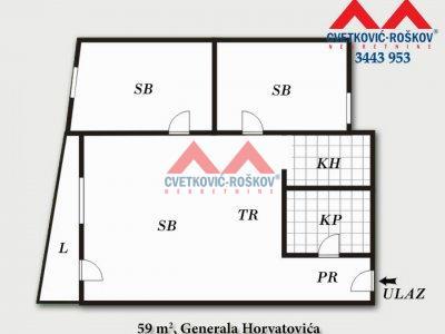 Detaljnije : STAN, 2.0, prodaja, Beograd, 59 m2, 118000e