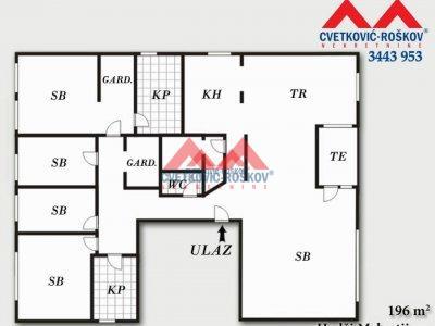 Detaljnije : STAN, 5.0, prodaja, Beograd, 196 m2, 607600e