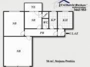 Detaljnije: STAN, 2.5, prodaja, Beograd, 56 m², 82000€
