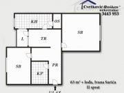 Detaljnije: STAN, 2.0, prodaja, Beograd, 63 m², 55000€