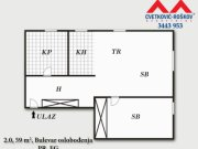 Detaljnije: STAN, 2.0, prodaja, Beograd, 59 m2, 118000e